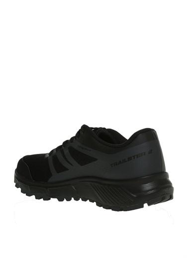 Salomon Salomon TRAILSTER 2 Bk/Bk/Mag  Siyah Koşu Ayakkabısı Siyah